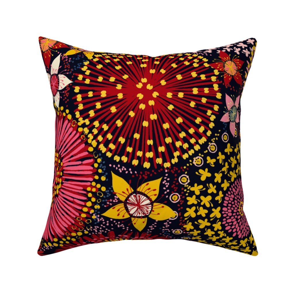 Catalan Throw Pillow featuring Blossom in Australia by ringele