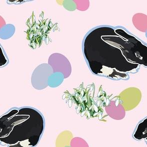 pink_black_easter_rabbit_single_01_seaml_stock