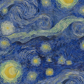 starry, starry night sky - original colors