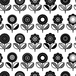 Scandi Flair4-Red_Floral_BW