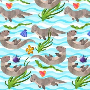 Otterly Adorable Otters