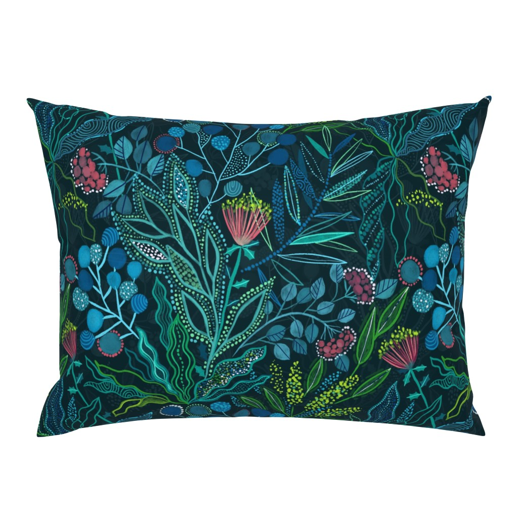 Campine Pillow Sham featuring Botanical vibes by kostolom3000