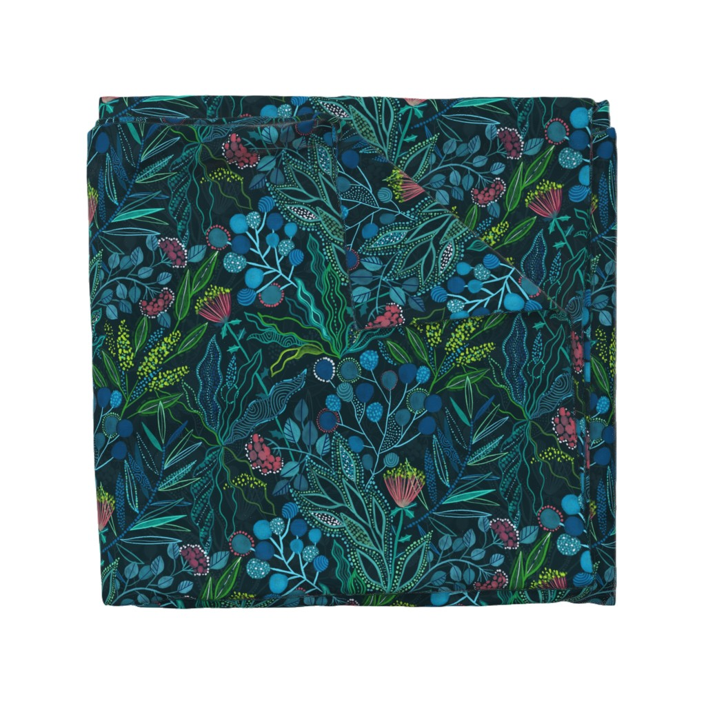 Wyandotte Duvet Cover featuring Botanical vibes by kostolom3000