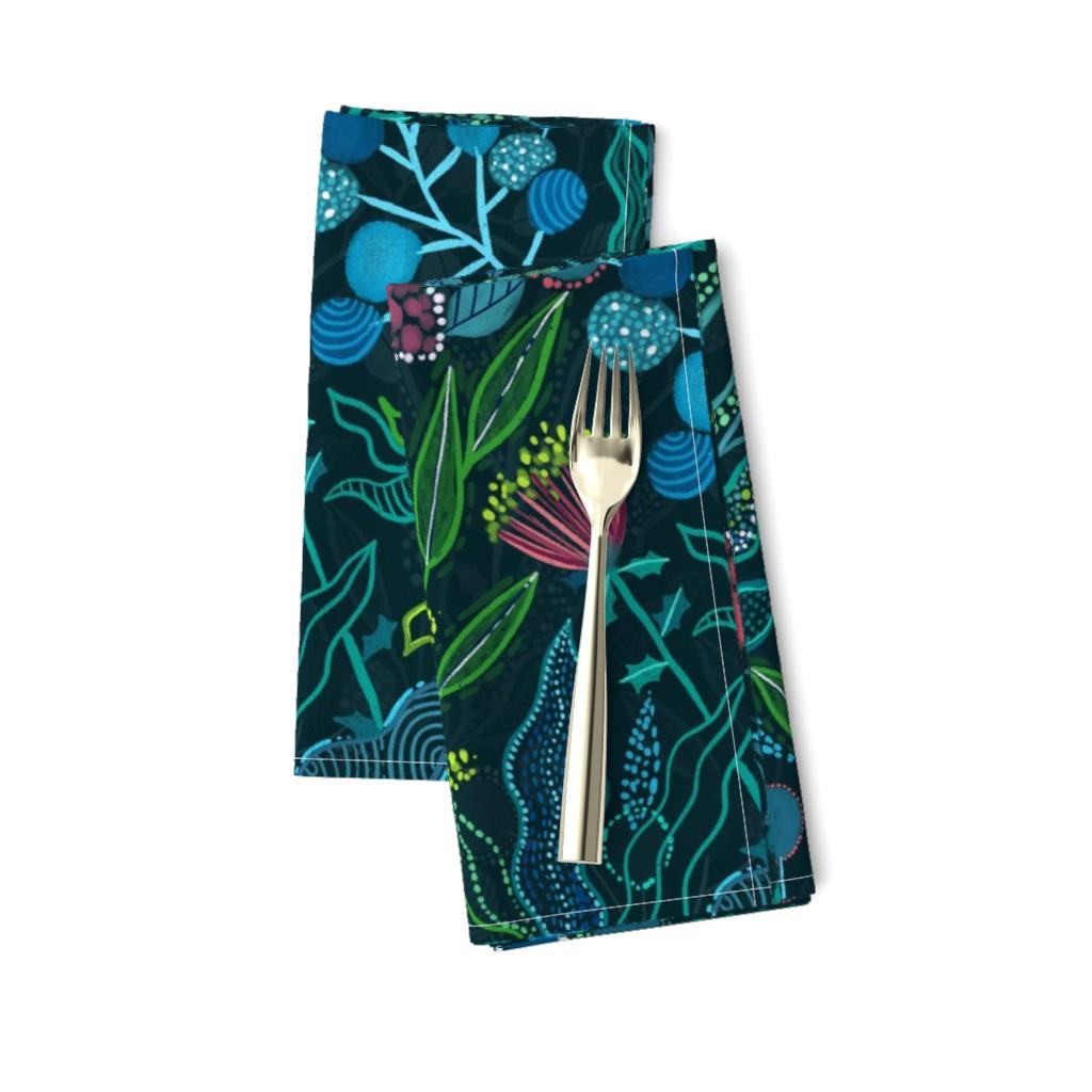 Amarela Dinner Napkins featuring Botanical vibes by kostolom3000