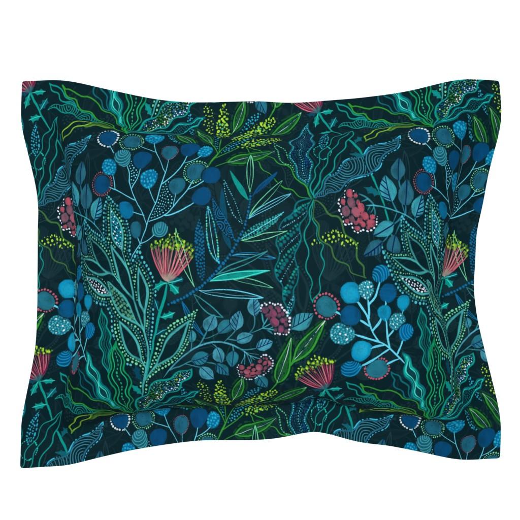 Sebright Pillow Sham featuring Botanical vibes by kostolom3000