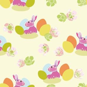 cream_pink_bunny_01_seaml_stock