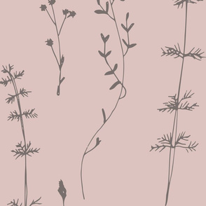 Delicate WIldflowers Patterl