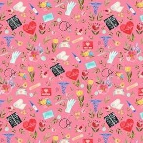 "4"" Love to Care Medical - Dark Pink"