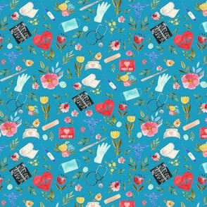 """4"""" Love to Care Medical - Turquoise"""