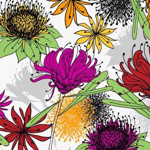 Aussie Floral - by Kara Peters
