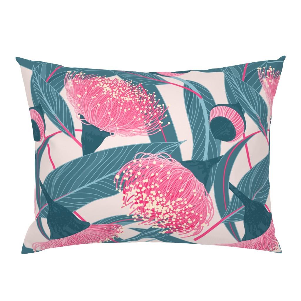 Campine Pillow Sham featuring Dreamy eucalyptus by doodlena