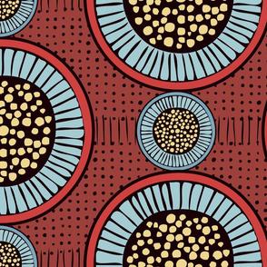 Eucalyptus Buds - Jumbo - Dark Red
