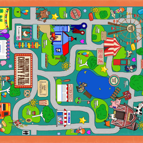 County Fair Playmat