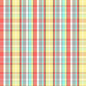 Sunny Plaid (Smaller Scale)