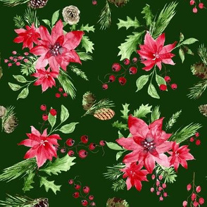 """winter floral (4"""")"""