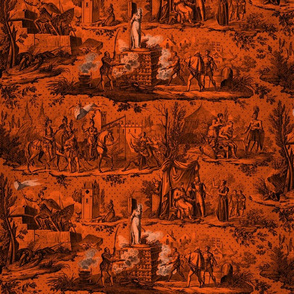 Jeanne d'Arc Toile  ~ Halloween Marquise and Black