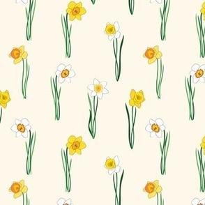 Daffodil Half-Drop