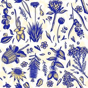 Aussie Flora - White