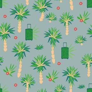 palm trees by rysunki_malunki