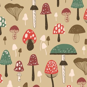 Forest Of Mushrooms