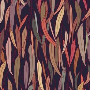 Mysterious Eucalyptus Forest