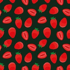 strawberries by rysunki_malunki