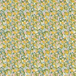 Ditsy Yellow Floral