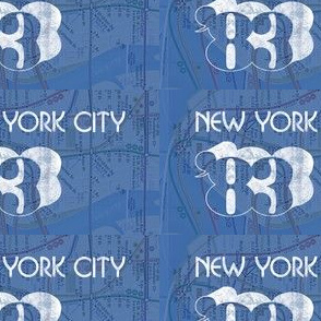 NYC '83 vintage patch