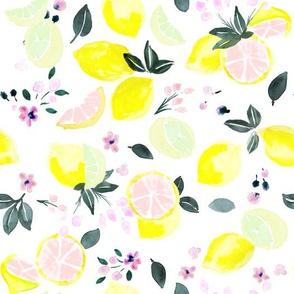 citrus + flowers - pink lemonade