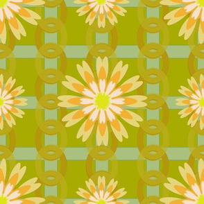 Flower Power Green