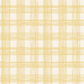 Sketch Gingham - Yellow