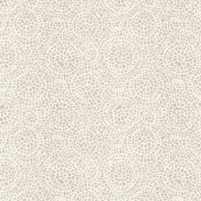 Watercolor dotted circles beige