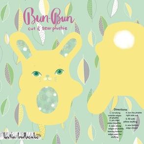 Plushie Bun Bun cut and sew