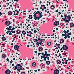 Cute Little Piggies (Pink)