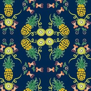 Kiwi Pineapple Summer Floral