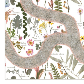 Fairy Garden Path Playmat