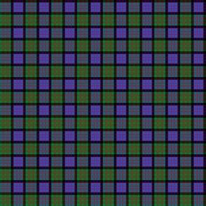 "Cameron tartan, modern colors, 1"" blend (no twill lines)"