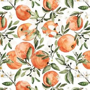 Botanical Orange Bright White