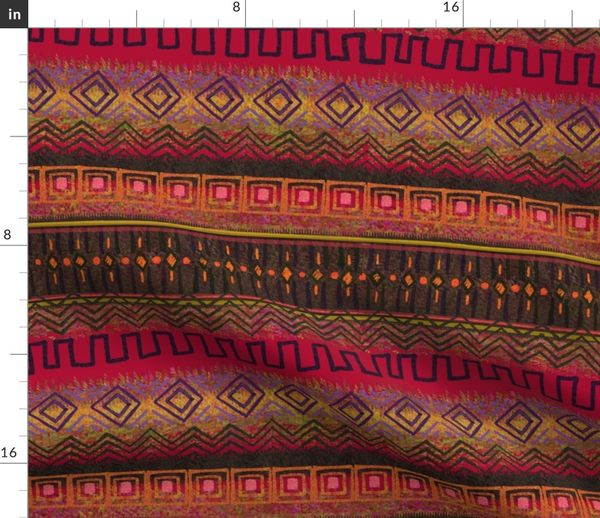 Fabric by the Yard African Patterns