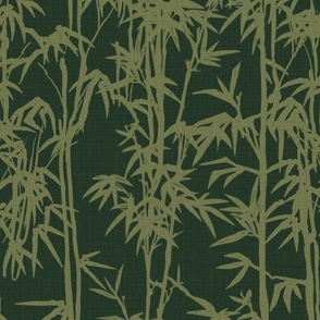 ABSTRACT RED AND GREY BAMBOO