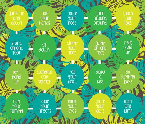 Jungle Gym Playmat Design