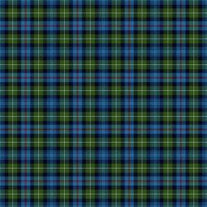 "Mackenzie / Seaforth Highlander tartan, 2"", muted colors (twill lines)"