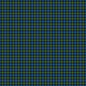 "Mackenzie / Seaforth Highlander tartan, 1"", muted colors (twill lines)"