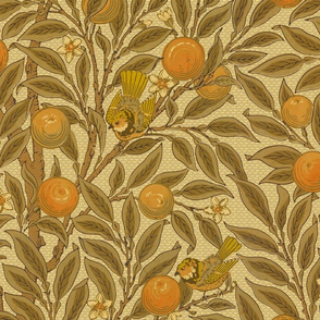 Orange Boughs ~ William Morris ~ Original