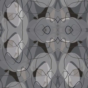 50's Endpaper Gray-01