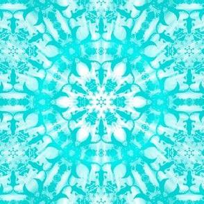 Shibori turquoise