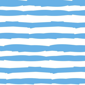 Paper Straws in Blue Sails Horizontal