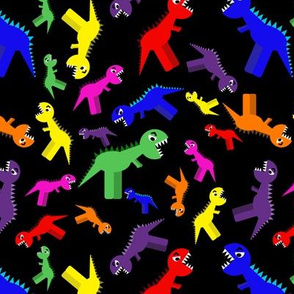 Colourful Multi T-Rex