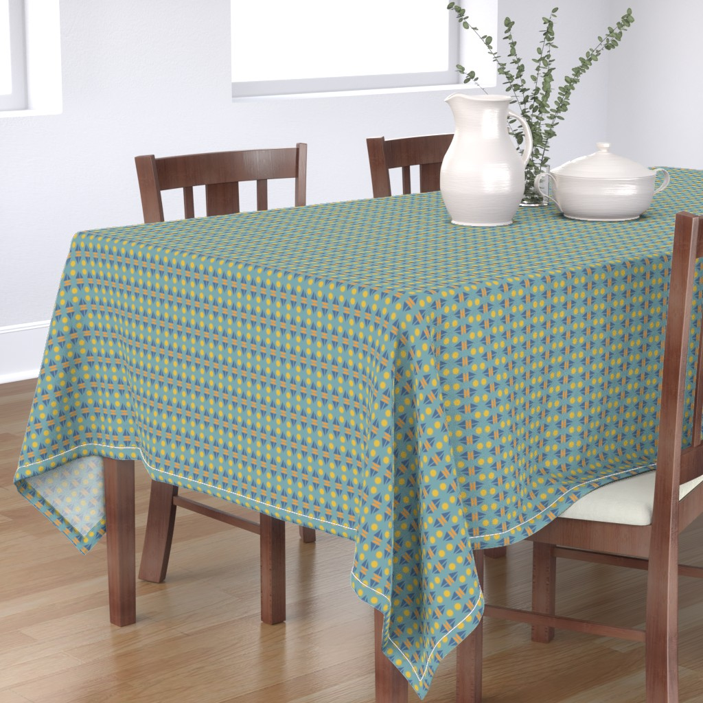 Bantam Rectangular Tablecloth featuring summer reflections by k_hackl