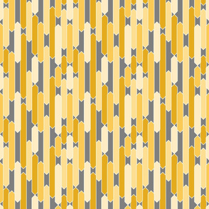 Modern tabs in yellows on gray